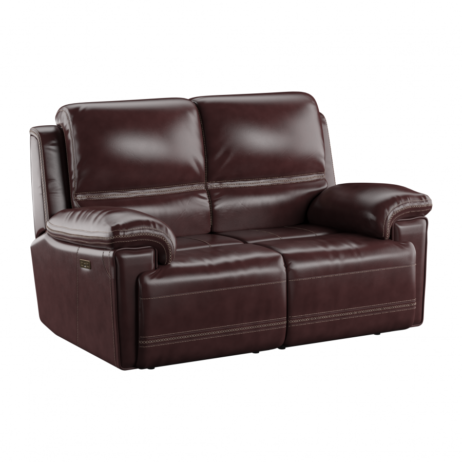 Bernard Power Loveseat with Power Headrest