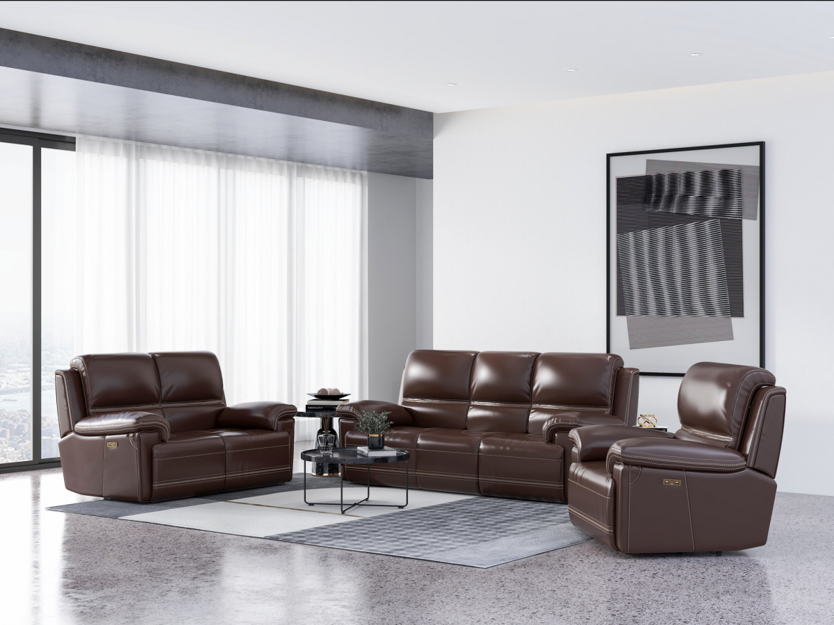 Bernard Power Sofa with Power Headrest