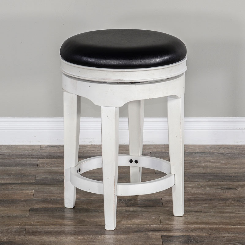 Carriage House Round Swivel Stool