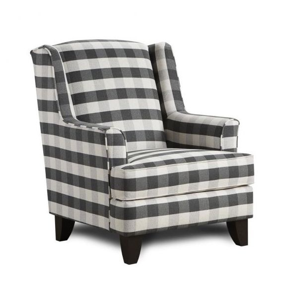 Brock Charcoal Armchair