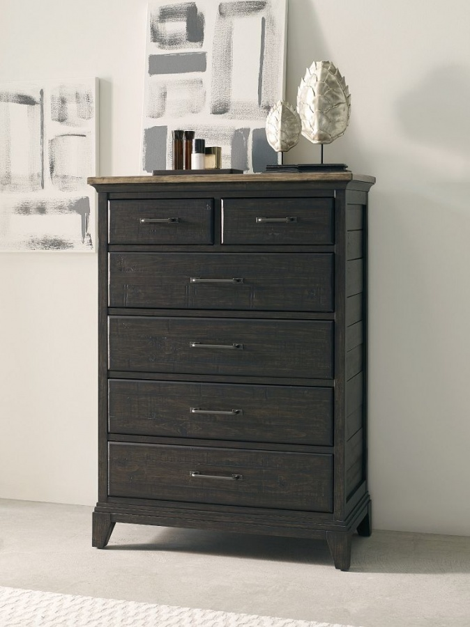Plank Road Charcoal Chest