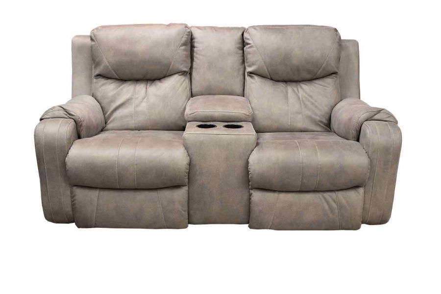 Marvel Dual Reclining Console Loveseat