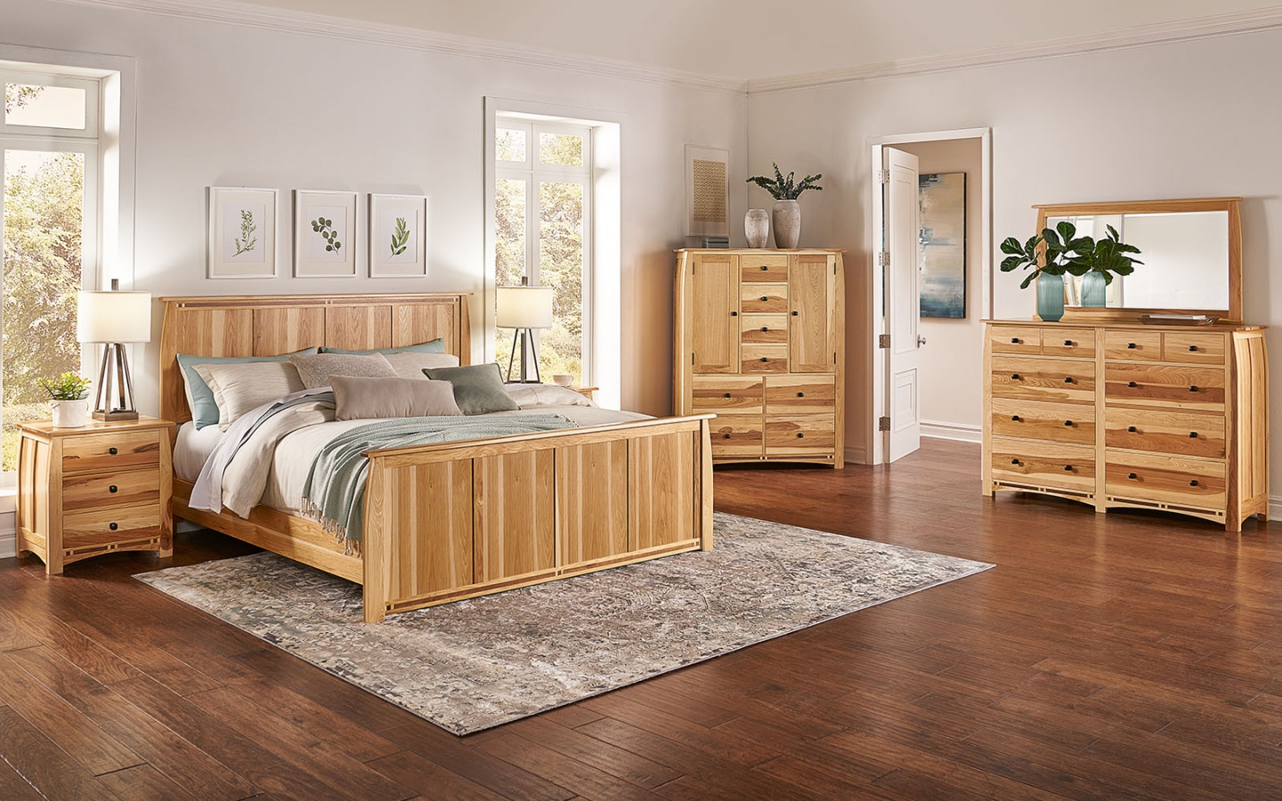 Adamstown Panel Bed