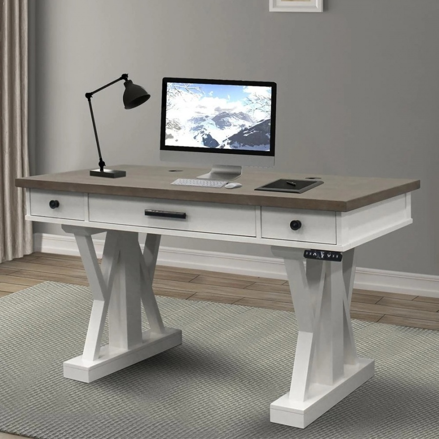 Americana Modern Power Lift Desk