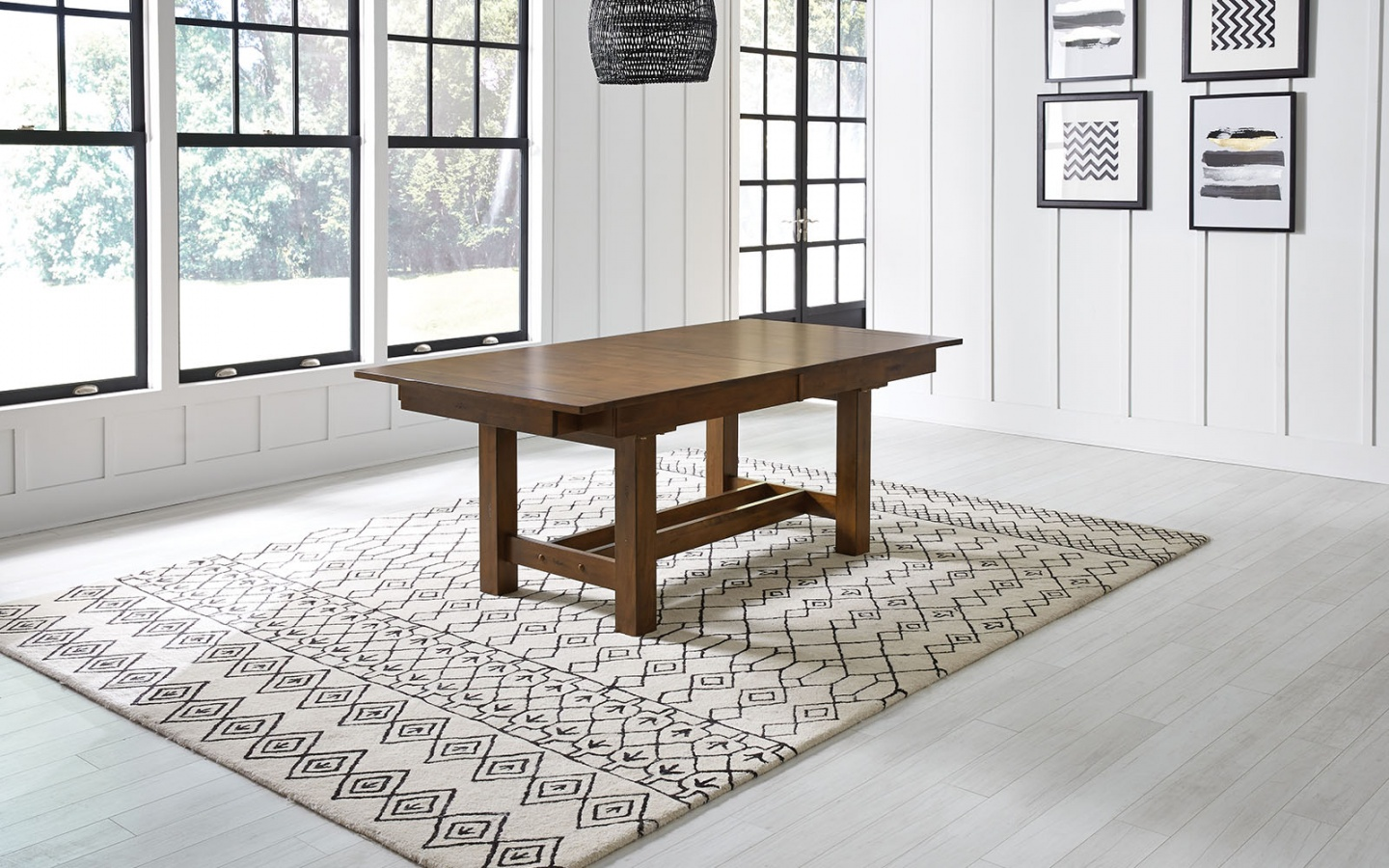 Mariposa RW Trestle Table