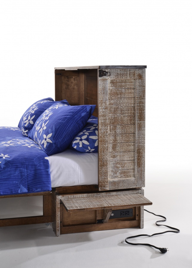 Poppy Murphy Bed with Mattress