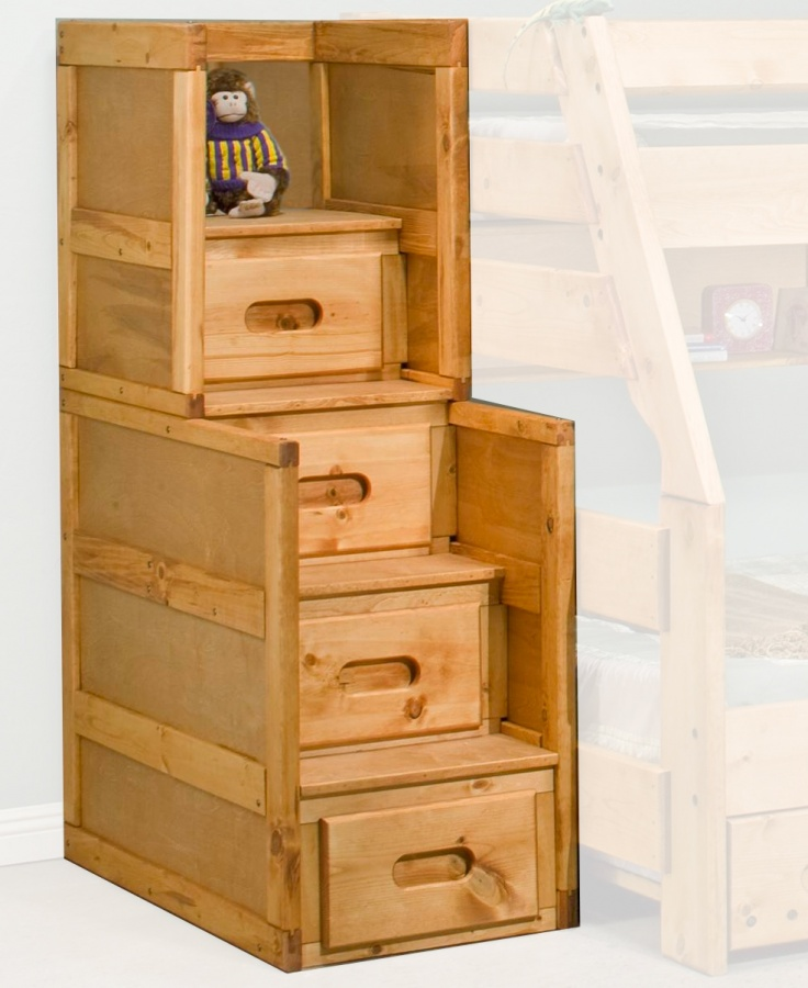 Bunkhouse Stairway 4 Drawer Chest