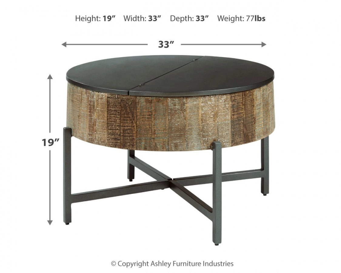 Nashbryn Round Cocktail Table
