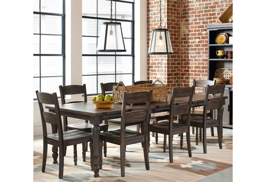 Madison County Barnwood Dining Set