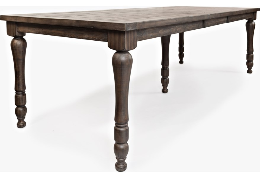 Madison County Barnwood Extension Table