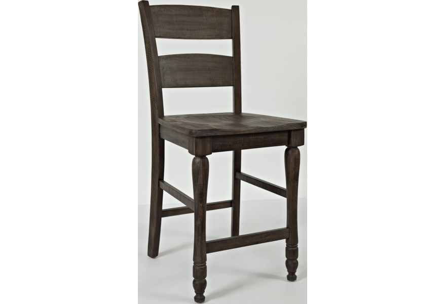 Madison County Ladderback Barstool