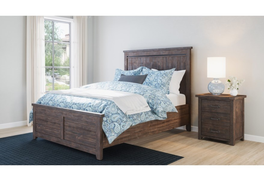 Madison County Panel Bed
